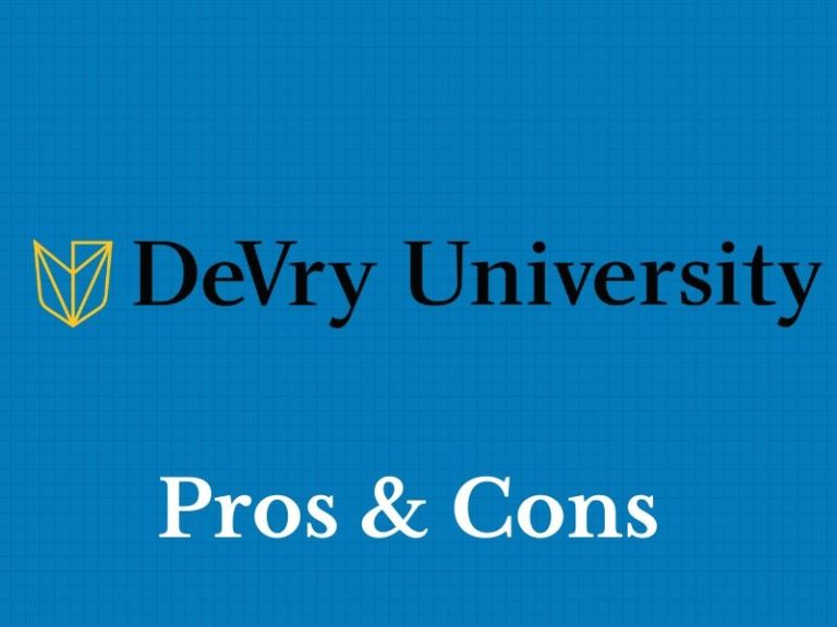 Pros and Cons of DeVry University: In-Depth Review