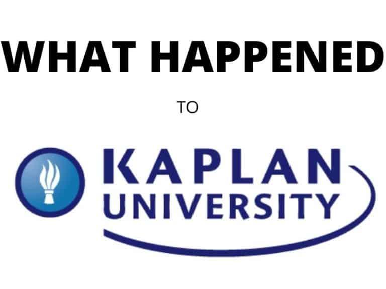 What Happened to Kaplan University