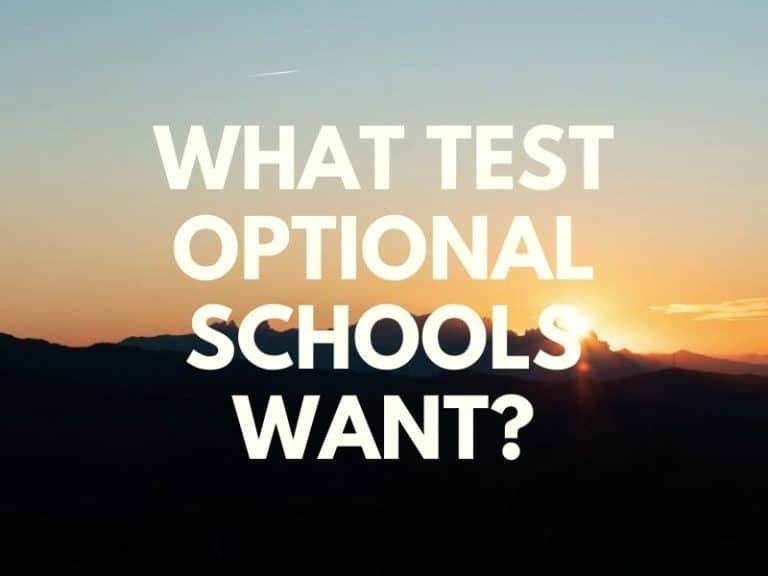 What Do Test-Optional Schools Look For In College Application